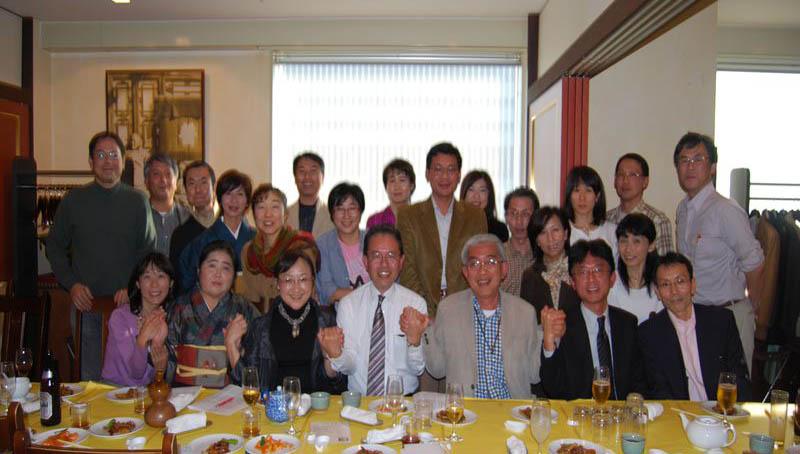 第32回秀麗会(英語研究部OB会)総会記念写真